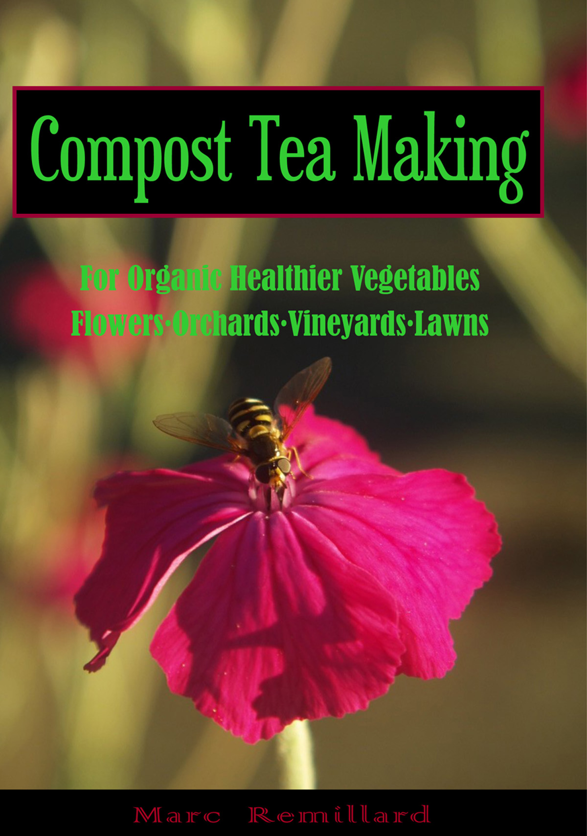 Compost Tea Making, compost tea, composting, how to compost